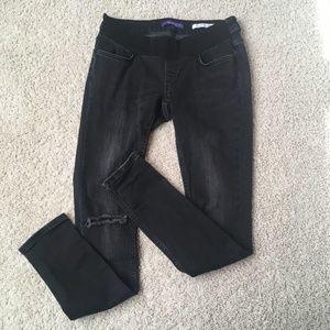 Seraphine Maternity Jeans, Skinny Fit, Black
